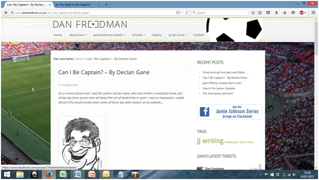 Dan Freedman's website