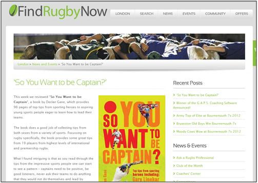 Find Rugby Now